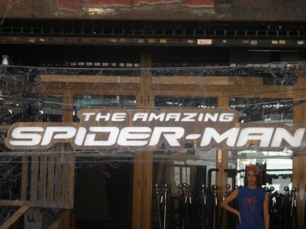 Premier Spiderman en Madrid