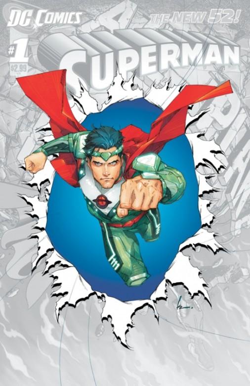 Portada del Superman 0
