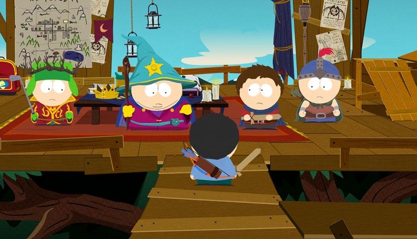 South Park The Stick of Truth E3 2012