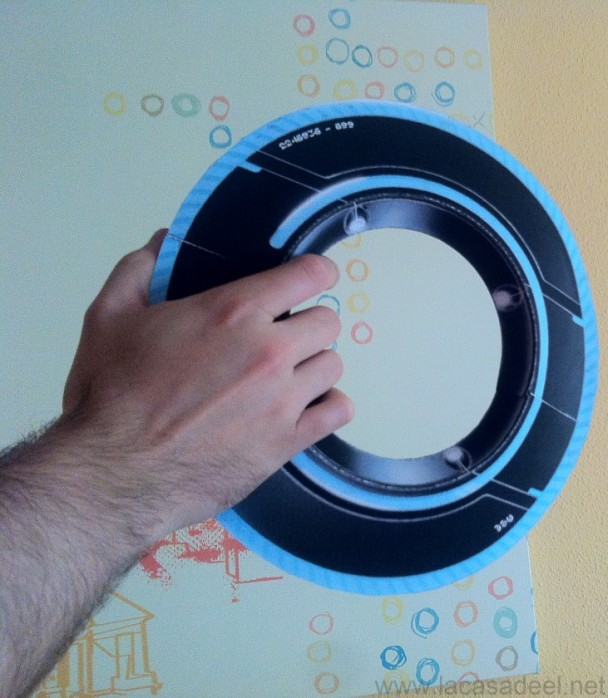Fabricando el disco de Tron Legacy