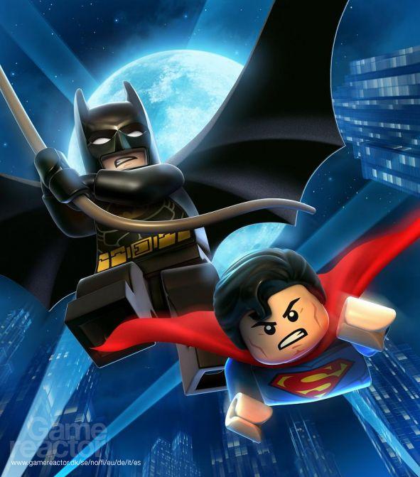 batman y superman version lego