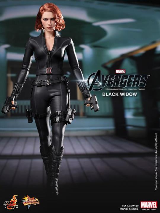 black widow hot toys avengers