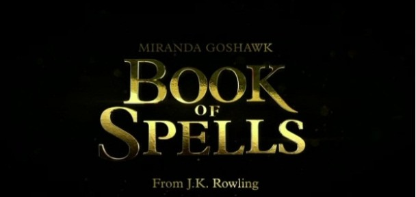 book of spells rowling