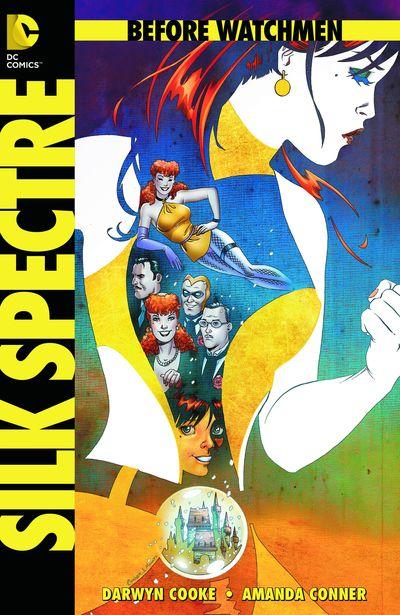 Portada del Before Watchmen Silk Spectre 1