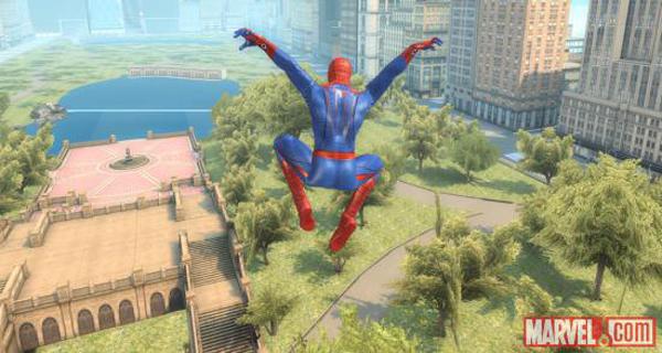 captura amazing spiderman mobile