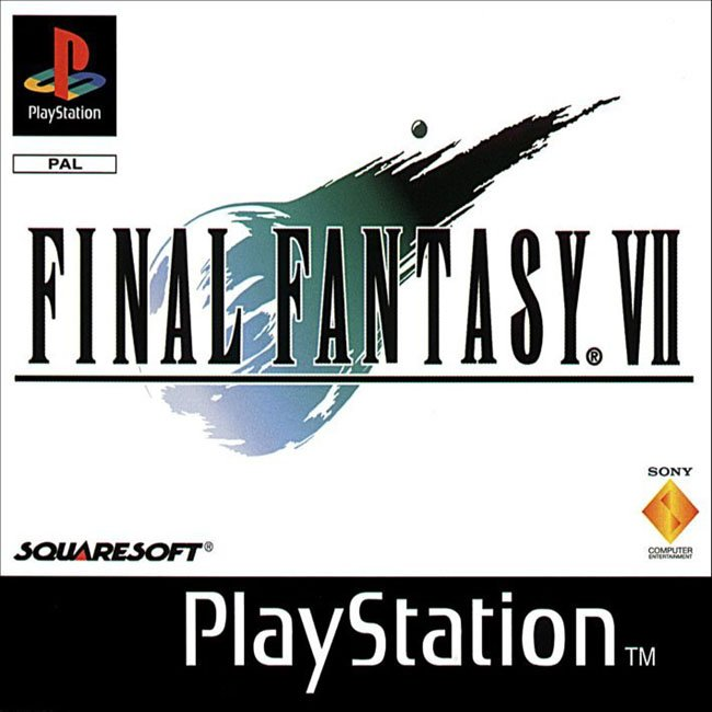 caratula final fantasy VII PAL LCDE