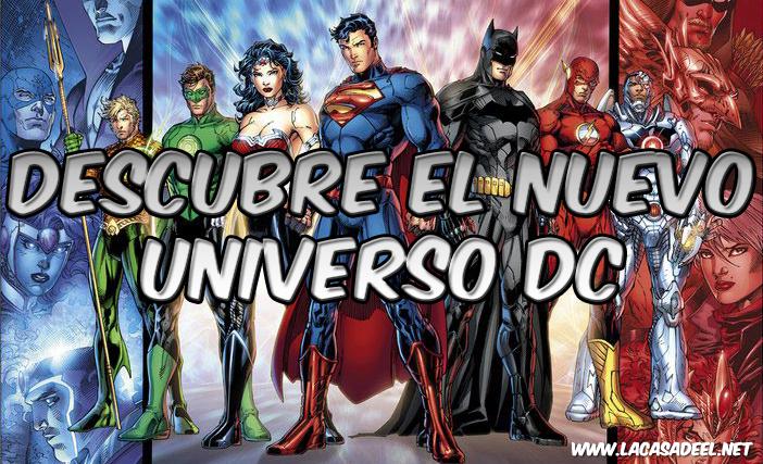 Descubre el Nuevo Universo DC