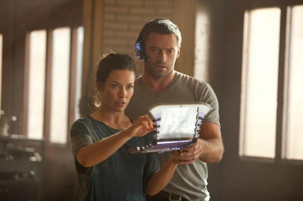 Evangeline Lilly y Hugh Jackman