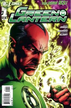 Green Lantern Número Uno Portada
