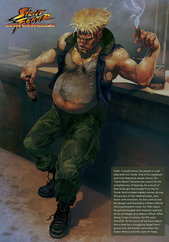 guile streetfighter
