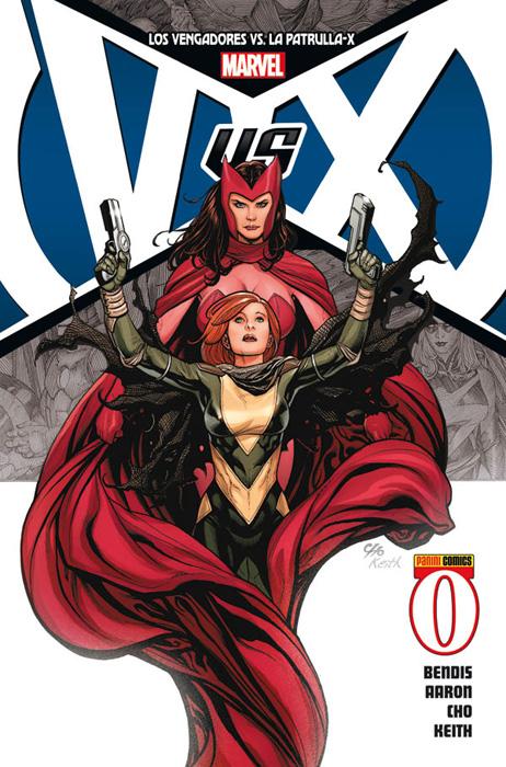 Portada de Los Vengadores Vs. La Patrulla-X