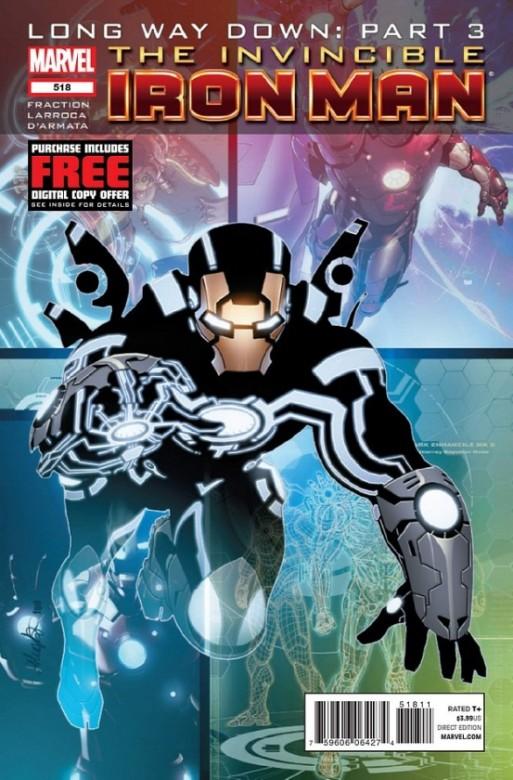 Portada del 518 de Invencible Iron Man