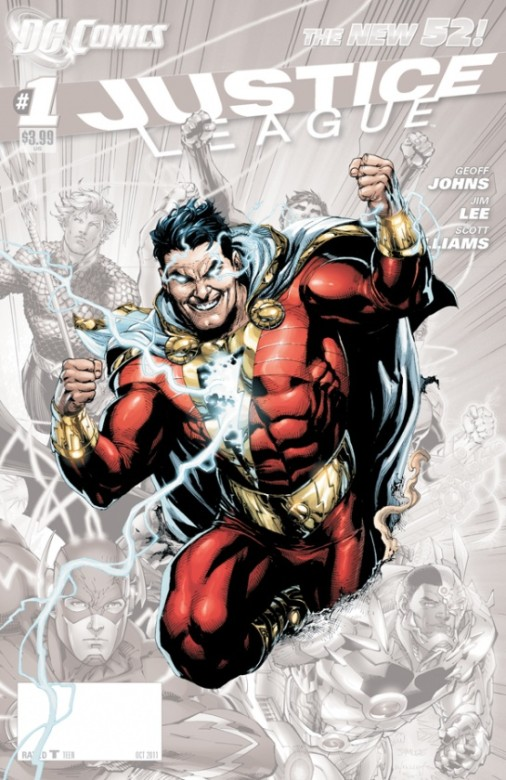 Portada del Justice League 0