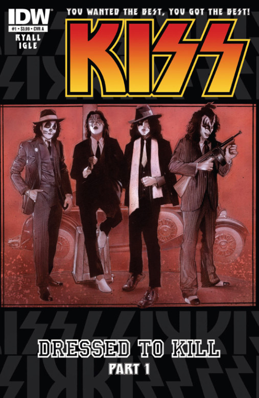 Kiss Dressed to Kill Comic