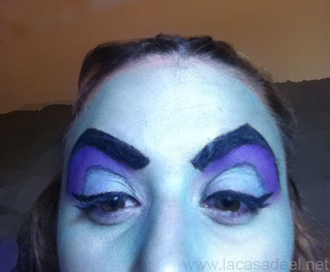 maquillaje cosplay malefica 11