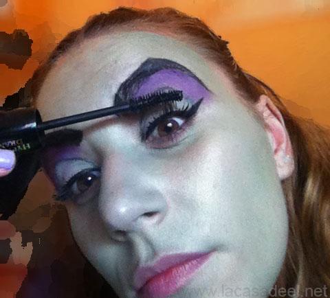 maquillaje cosplay malefica 14