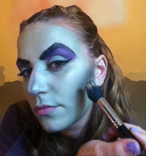 maquillaje cosplay malefica 15
