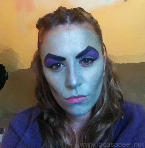 maquillaje cosplay malefica 16