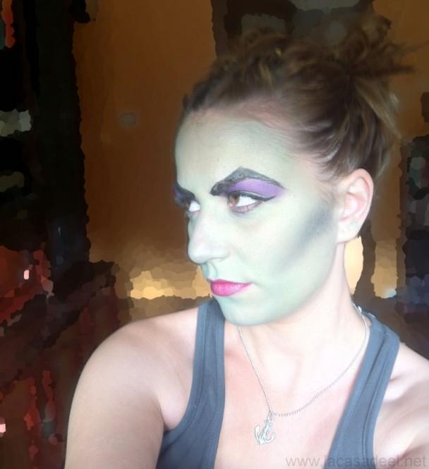 maquillaje cosplay malefica 22