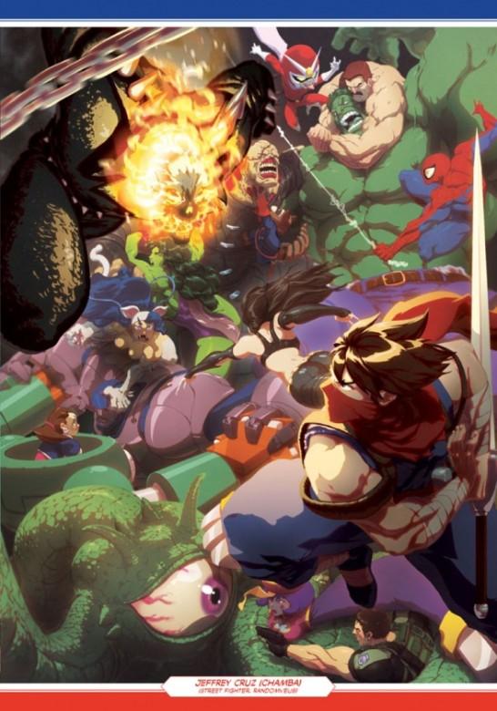 página del Marvel vs. Capcom Official Complete Works