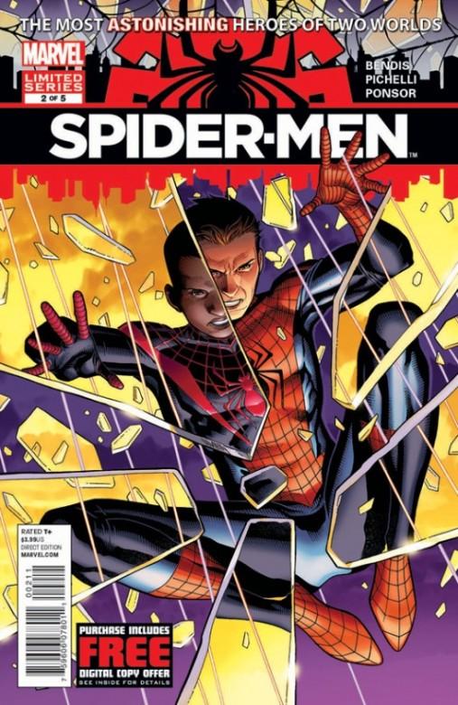 Portada del Spider-Men 2