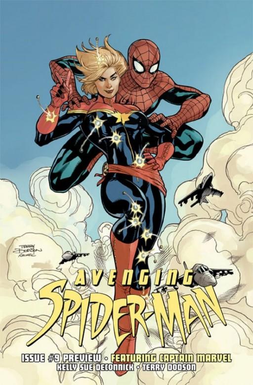 Portada del Avenging Spider-Man 9