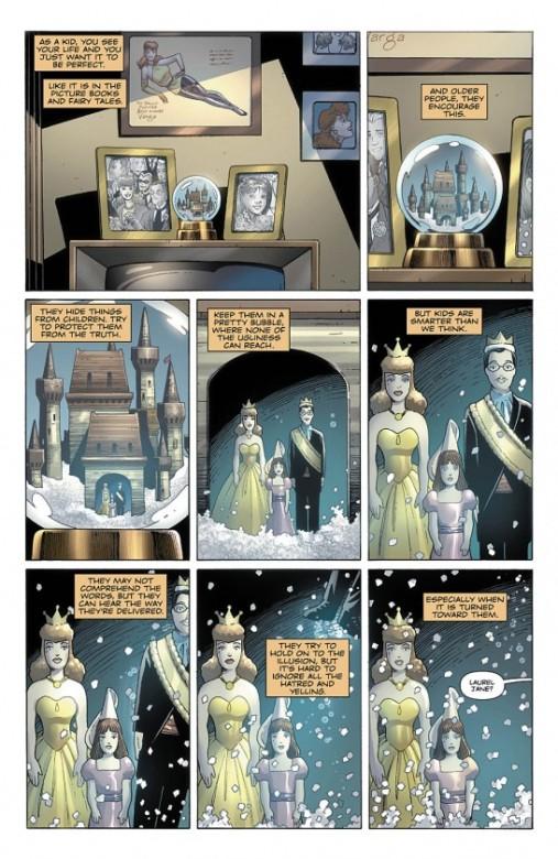 Página del Before Watchmen: Silk Spectre 01