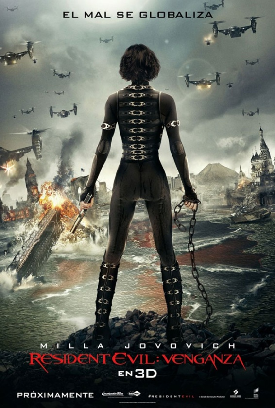 Poster Resident Evil Retribution
