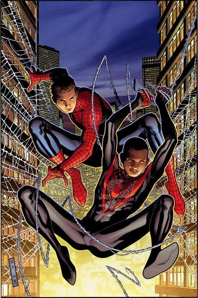 Portada del Spider-Men 1