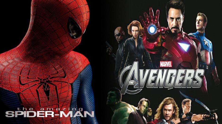 the amazing spiderman los vengadores