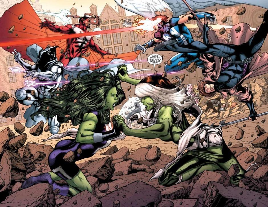 Detalle del X-Men Legacy 267