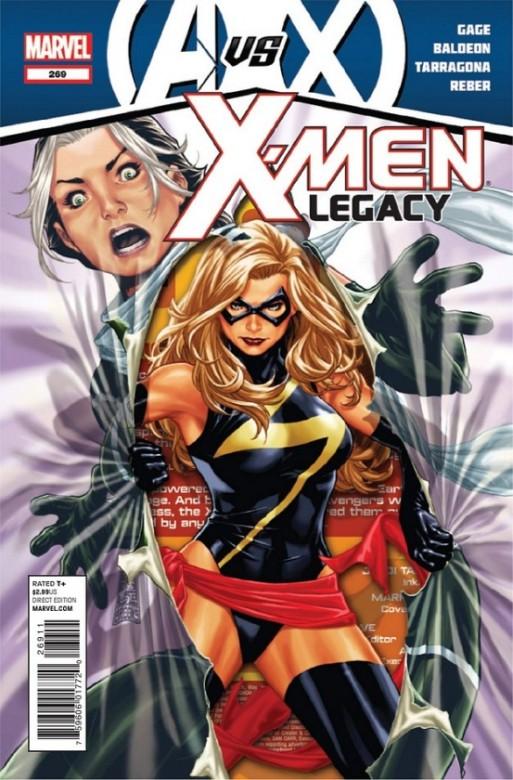 Portada del X-Men Legacy 269