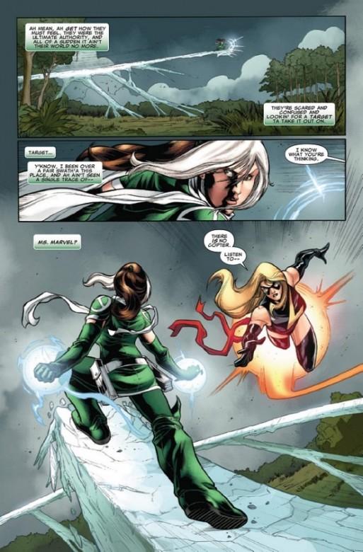 Página del X-Men Legacy 269