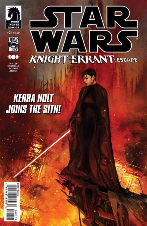 Portada del Star Wars Knight Errant - Escape 2