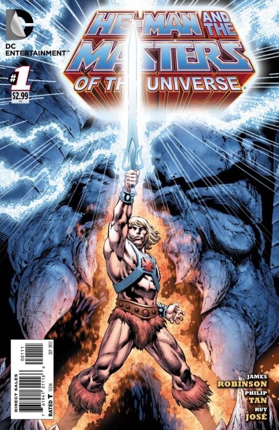 Portada de He-Man y los Masters del Universo