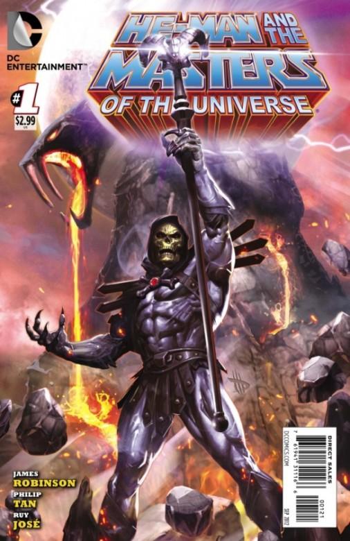 Portada alternativa de He-Man y los Masters del Universo