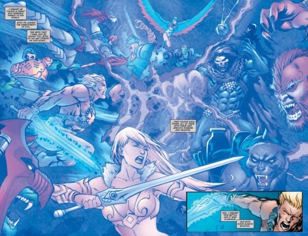 Página de He-Man y los Masters del Universo