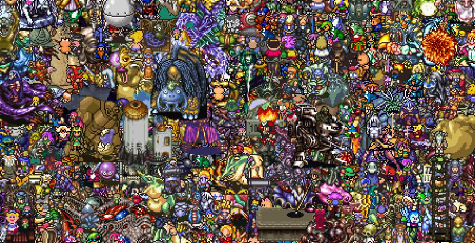 13000 personajes 16 bits jrpg