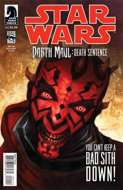 Portada del Star Wars Darth Maul
