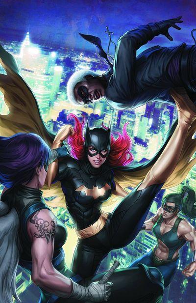 Portada del Batgirl 11