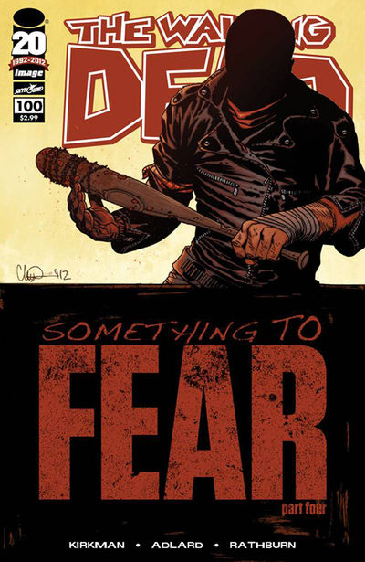 Portada del The Walking Dead 100