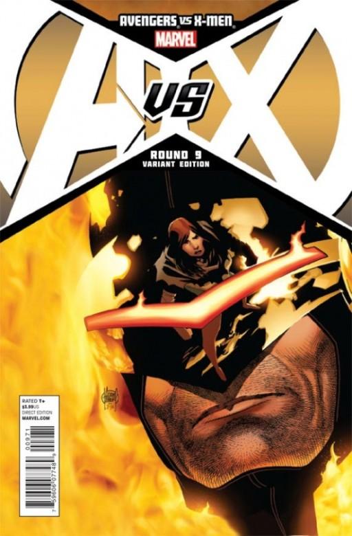 Portada Alternativa de Avengers Vs. X-Men 9