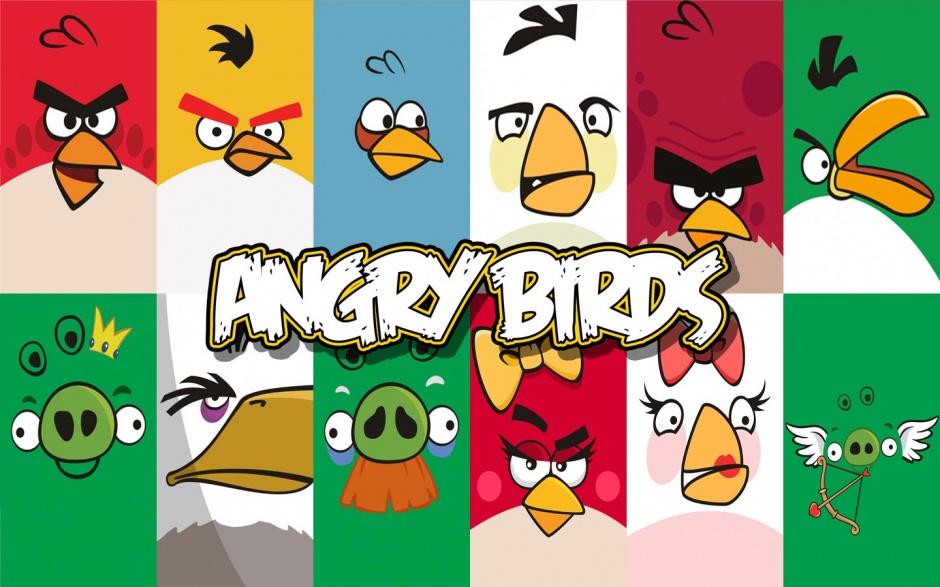Angry Birds 1440x900 Widescreen Wallpaper