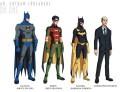 Los personajes de Batman divididos en temporadas