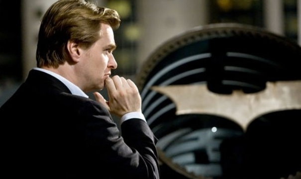 Christopher Nolan durante el rodaje de The Dark Knight Rises