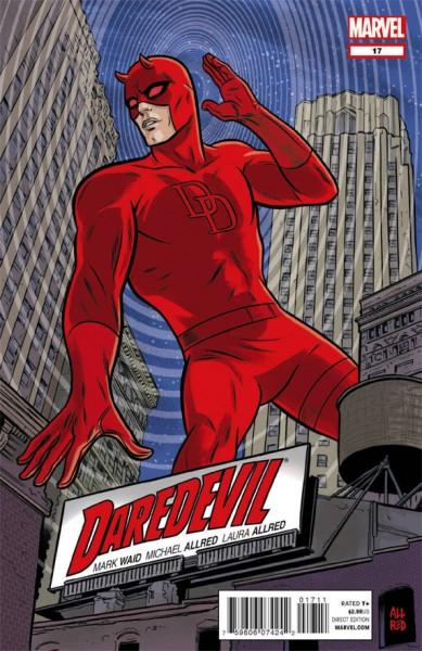 Portada del Daredevil 17