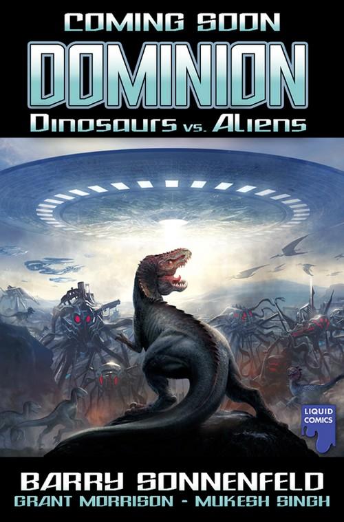 Dinosaurs vs Aliens