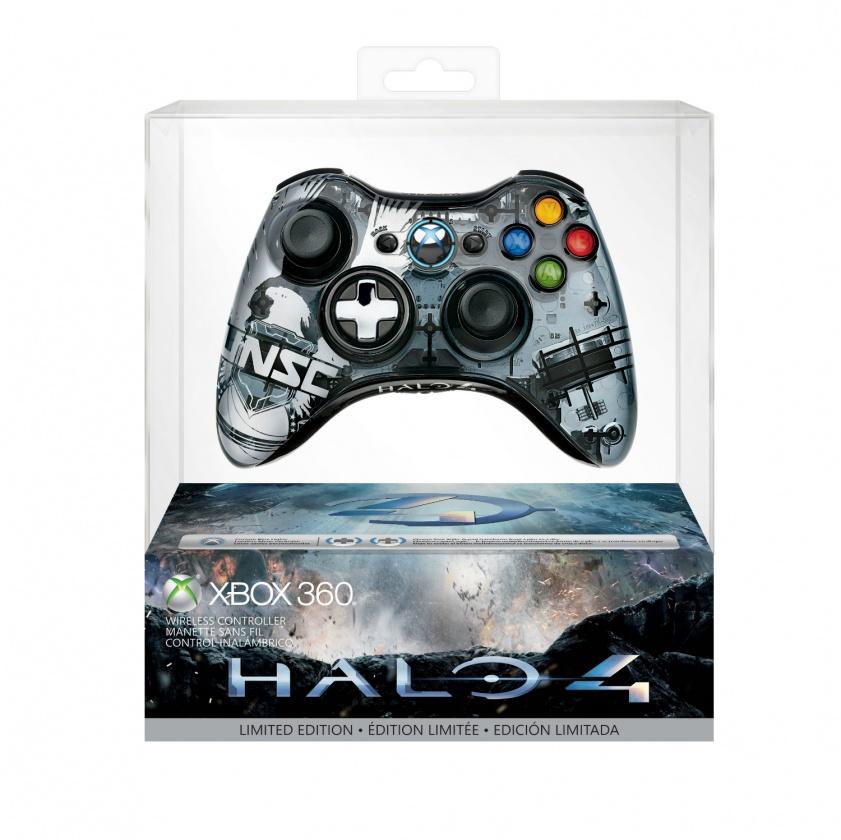 Control inalámbrico inspirado en Halo 4