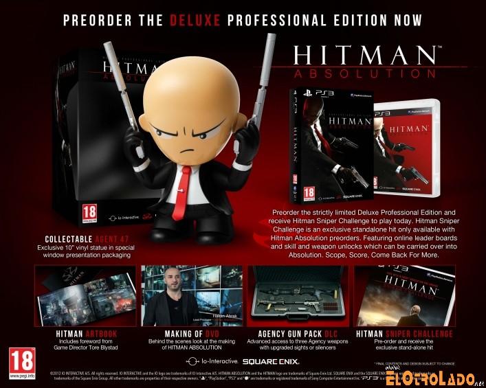 Edición Profesional Deluxe de Hitman