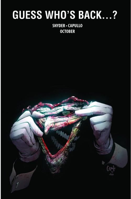 El Joker regresa al Nuevo Universo DC en Octubre